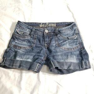 Wallflower Jean Shorts size 5